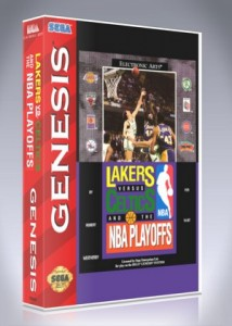 Sega Genesis - Lakers versus Celtics and the NBA Playoffs