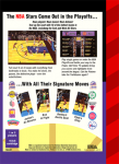Sega Genesis - Lakers versus Celtics and the NBA Playoffs (back)