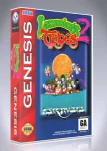 Sega Genesis - Lemmings 2: The Tribes