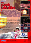 Sega Genesis - Magic School Bus (back)