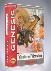 Sega Genesis - Master of Monsters