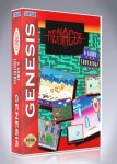 Sega Genesis - Menacer 6 Game Cartridge
