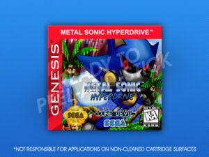 Sega Genesis - Metal Sonic Hyperdrive