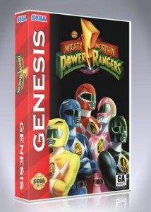 Sega Genesis - Mighty Morphin Power Rangers