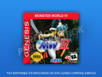 Genesis - Monster World IV Label