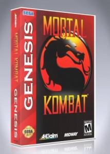 Sega Genesis - Mortal Kombat