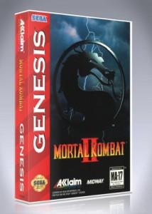 Sega Genesis - Mortal Kombat II