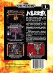 Sega Genesis - MUSHA (back)