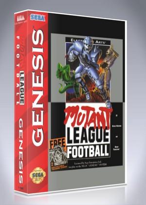 Sega Genesis - Mutant League Football