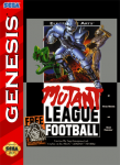 Sega Genesis - Mutant League Football (front)