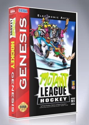 Sega Genesis - Mutant League Hockey