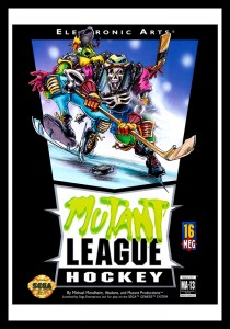 Genesis - Mutant League Hockey Poster