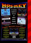 Sega Genesis - Mutant League Hockey (back)
