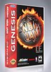 Sega Genesis - NBA Jam T.E.