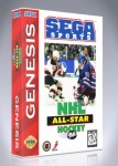 Sega Genesis - NHL All-Star Hockey 95