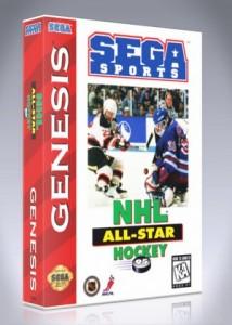 Sega Genesis - NHL All-Star Hockey 95