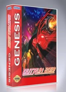 Sega Genesis - Outrun 2019
