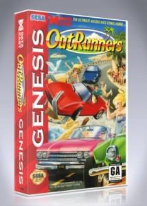 Sega Genesis - Out Runners