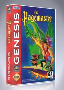 Sega Genesis - Pagemaster