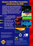 Sega Genesis - Pagemaster (back)