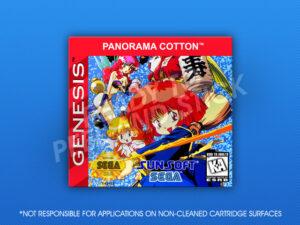 Genesis - Panorama Cotton Label