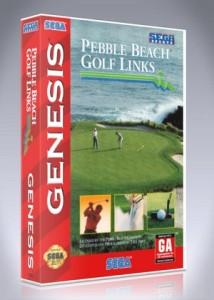 Sega Genesis - Pebble Beach Golf Links