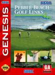 Sega Genesis - Pebble Beach Golf Links (front)