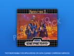 Sega Genesis - Phantasy Star II Label