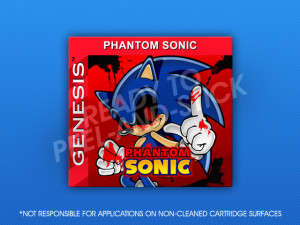Sega Genesis - Phantom Sonic
