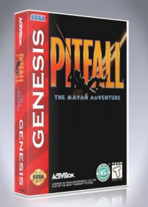 Sega Genesis - Pitfall: The Mayan Adventure