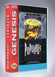 Sega Genesis - Populous