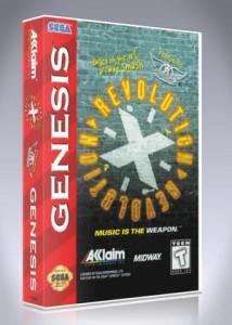 Sega Genesis - Revolution X