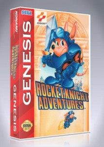 Sega Genesis - Rocket Knight Adventures