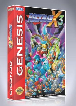 Sega Genesis - Rockman X3