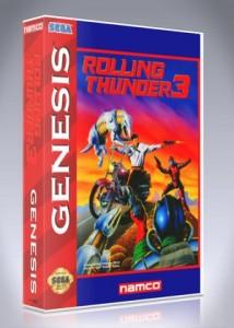 Sega Genesis - Rolling Thunder 3