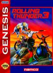 Sega Genesis - Rolling Thunder 3 (front)