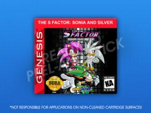 Sega Genesis - S Factor: Sonia and Silver Label