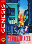 Sega Genesis - Shadow Dancer (front)