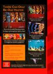 Sega Genesis - Shadow of the Beast (back)