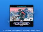 Sega Genesis - Shining Force Label