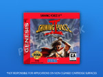 Sega Genesis - Shining Force II Label
