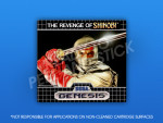 Genesis - Revenge of Shinobi Label