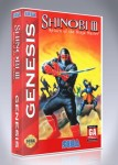 Sega Genesis - Shinobi III: Return of the Ninja Master