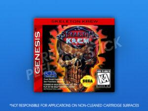 Sega Genesis - Skeleton Krew Label