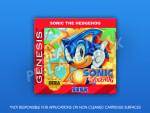 Sega Genesis - Sonic the Hedgehog Label