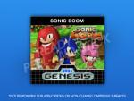 Sega Genesis - Sonic Boom Label