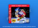 Sega Genesis - Sonic Classic Heroes Label