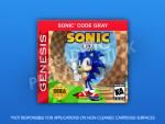 Sega Genesis - Sonic Code Gray Label