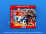 Sega Genesis - Sonic Spinball Label