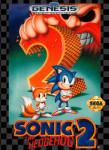Genesis - Sonic The Hedgehog 2 (front)
